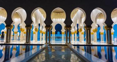 die shaikh zayed moschee