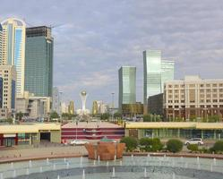 administrative and cultural center of Astana photo