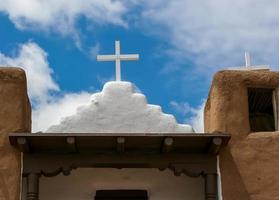 capela de san geronimo em pueblo de taos, eua