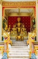 Buddha in Thailand temple