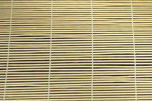cortina de bambú. foto