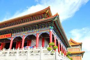 Traditional Chinese style temple at Wat Leng-Noei-Yi
