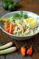 soto - cocina malaya e indonesia foto