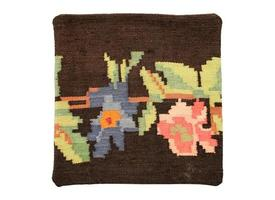almohada de alfombra foto