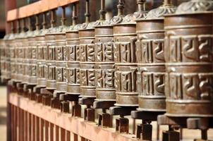 Prayer wheels photo