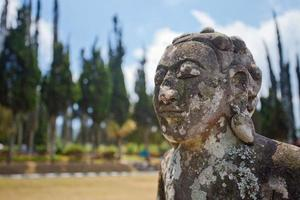 Ancient statue of Bali mythology photo