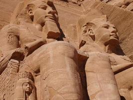 Abu Simbel statue of Ramses