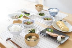 Japanese breakfast photo