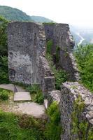 Castle ruins Nevitsky photo