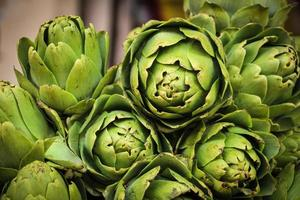 pile of fresh artichokes