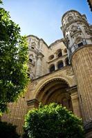 Malaga cathedral photo