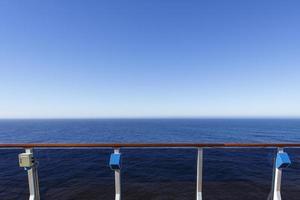 vista al océano foto