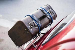 de koffer van de reiziger
