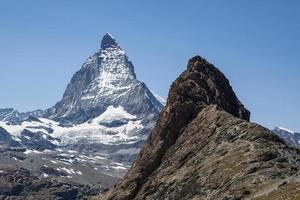 Riffelberg and the Matterhorn