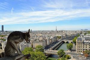 Gargoyle of Notre Dame, Paris photo