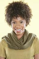 Portrait of an African American woman photo