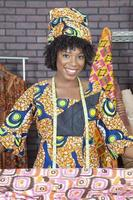 retrato de una mujer afroamericana