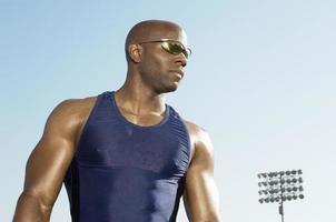atleta de pista y campo foto