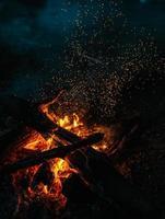fuego mágico foto