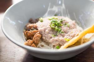 Asian style noodle
