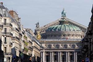 Opera Avenue in Paris photo