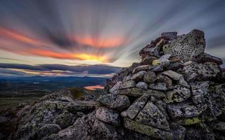 Norwegian mountains photo
