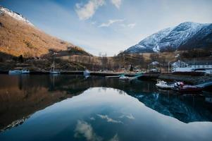 Flam harbour