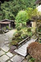 Traditional asian yard