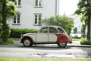 Old car in Norway photo