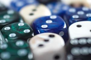 Pool of different dice