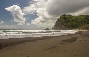 costa de kolhala isla grande hawaii foto
