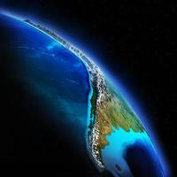 Earth night photo