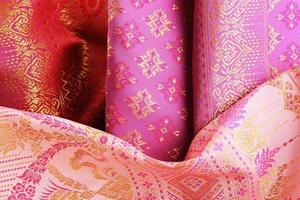 têxtil asiático antigo