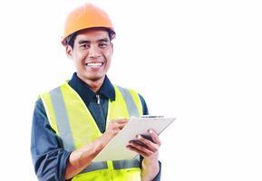 Asian man engineer