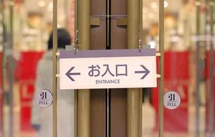 Asian shopping abstract photo