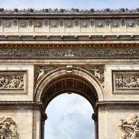 Triumphal Arch, Paris photo
