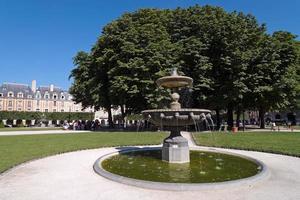 Place des Vosges in Paris city photo