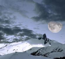 Black Tusk and moon