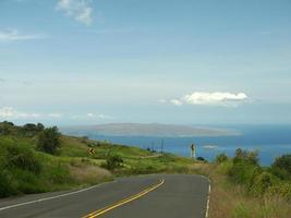 Driving on Hawaii photo