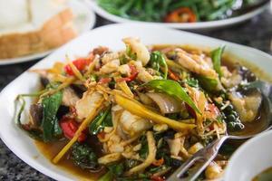 comida asiática foto