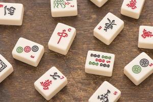 Mahjong game photo