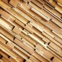 Panel of wood plank