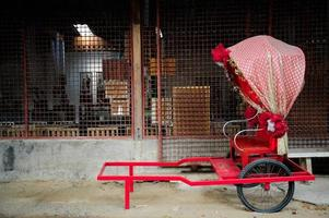 Asian rickshaws photo