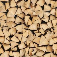Fire wood - seamless photo