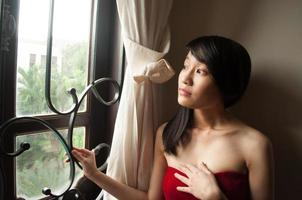 joven asiática