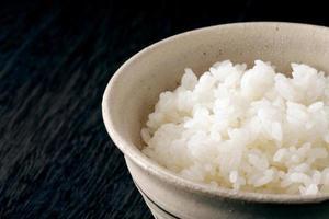 arroz asiático foto