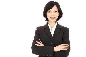 joven mujer asiática foto