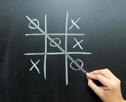 Noughts and crosses photo