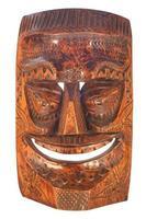 Tiki mask photo