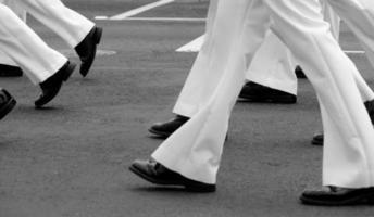 Navy parade in Hilo photo